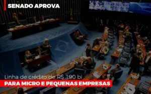 Senado Aprova Linha De Crédito De R$190 Bi Para Micro E Pequenas Empresas Notícias E Artigos Contábeis - Contabilidade em São Paulo | Catana Assessoria Empresarial