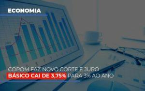 Copom Faz Novo Corte E Juro Basico Cai De 375 Para 3 Ao Ano Notícias E Artigos Contábeis - Contabilidade em São Paulo | Catana Assessoria Empresarial
