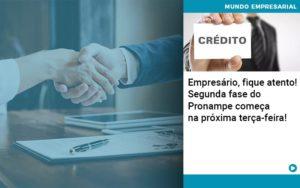 Empresario Fique Atento Segunda Fase Do Pronampe Comeca Na Proxima Terca Feira - Contabilidade em São Paulo   Catana Assessoria Empresarial