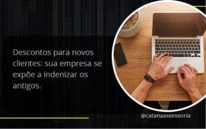 Descontos Para Novos Clientes Catana Empresarial - Contabilidade em São Paulo | Catana Assessoria Empresarial
